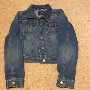 Women's Ann Taylor LOFT Modern denim jacket